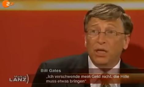 ZDF Markus Lanz: Bill Gates spricht über Impfungen 14.07.2011