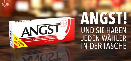NDR extra 3: Werbespot Angst (Humor)
